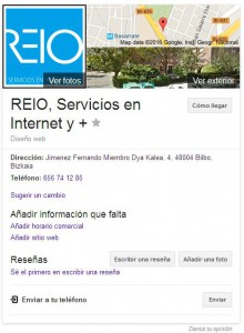 Google My Business Reio